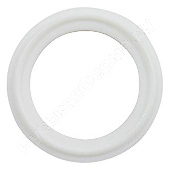 уплотнение соединения clamp dn65 ptfe